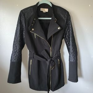 Michael Kors Black Belted Jacket